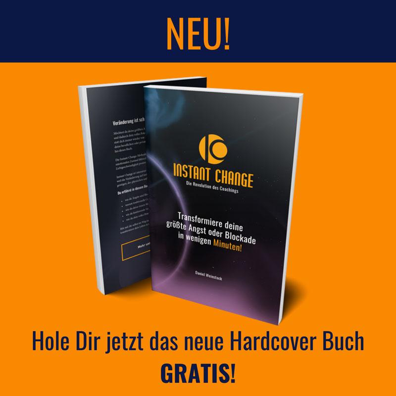 Gratis Hardcover Buch Instant Change