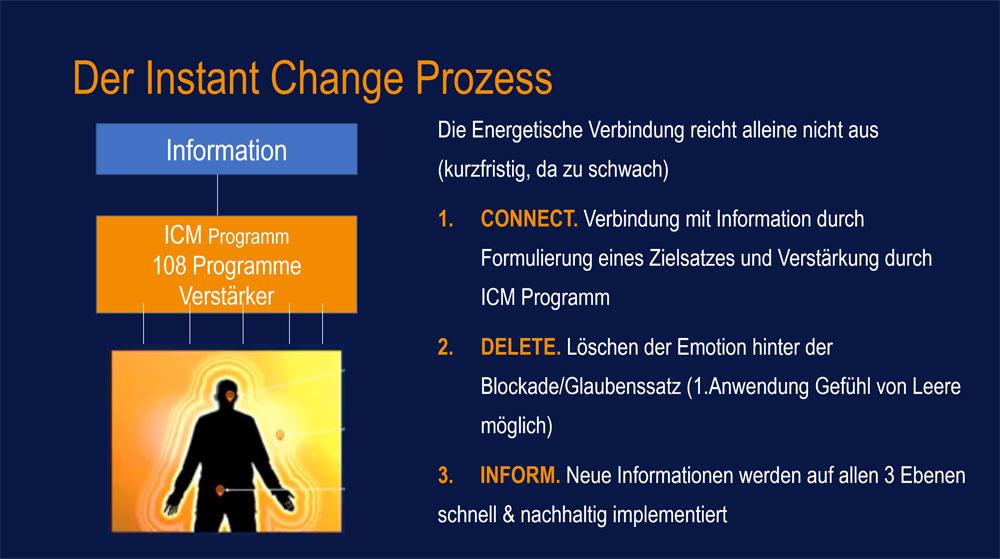Anwendung Instant Change Prozess